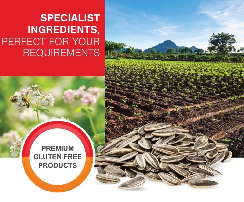 Premium quality and naturally gluten-free ingredients